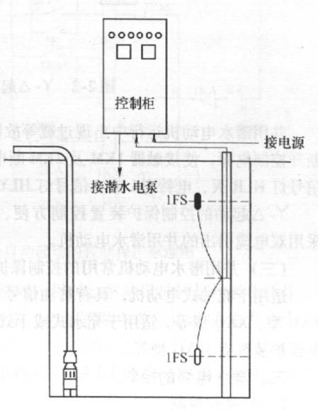 潜水电机星三角-丫-△控制保护电路