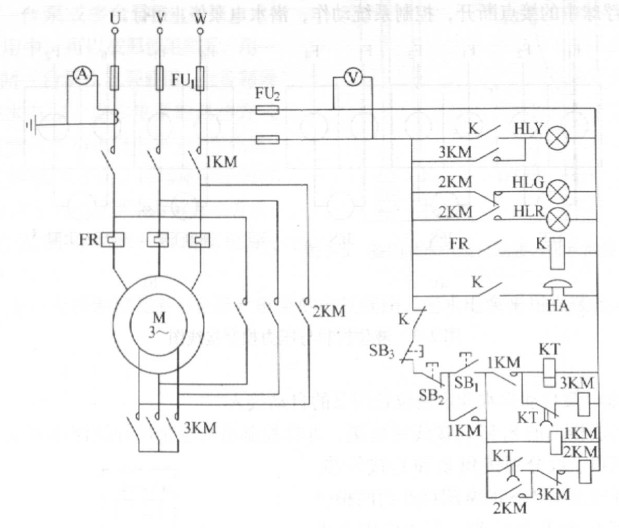 工程电器简单启动电路图